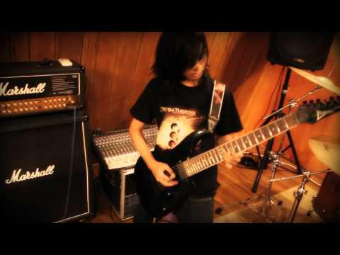 Jeje GuitarAddict -  Skrillex Scary Monsters And Nice Sprites Metal Cover 2012 (Music Video)