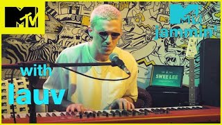 Lauv performs his new hit single Drugs and the Internet MTV Jammin#39