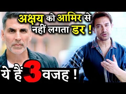 3 REASONS: Akshay Kumar is Not Scared Of Aamir Khan At Box Office Mp3