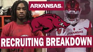 Arkansas Recruiting Breakdown (2019) FOUR 4 Star Wide Receivers