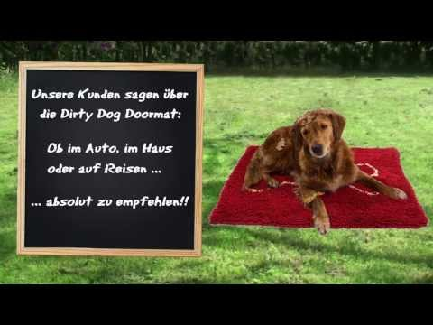 Dirty Dog Doormat Hundedecke | HUND-unterwegs.de