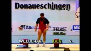 1991 IWF World Championships Men 110 Kg