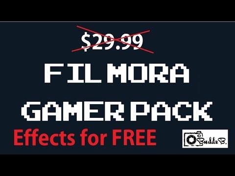 filmora gaming pack