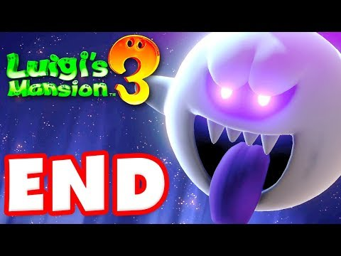 Luigi's Mansion 3 - Gameplay Walkthrough Part 15 - ENDING! King Boo Boss Fight! (Nintendo Switch)