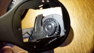 Logitech H800 Headset Battery Modification 1400 mAh