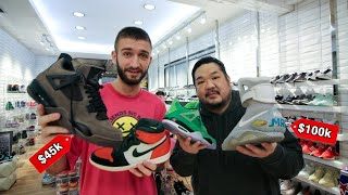 The Worlds MOST EXPENSIVE SNEAKER COLLECTION with Big Boy Cheng!
