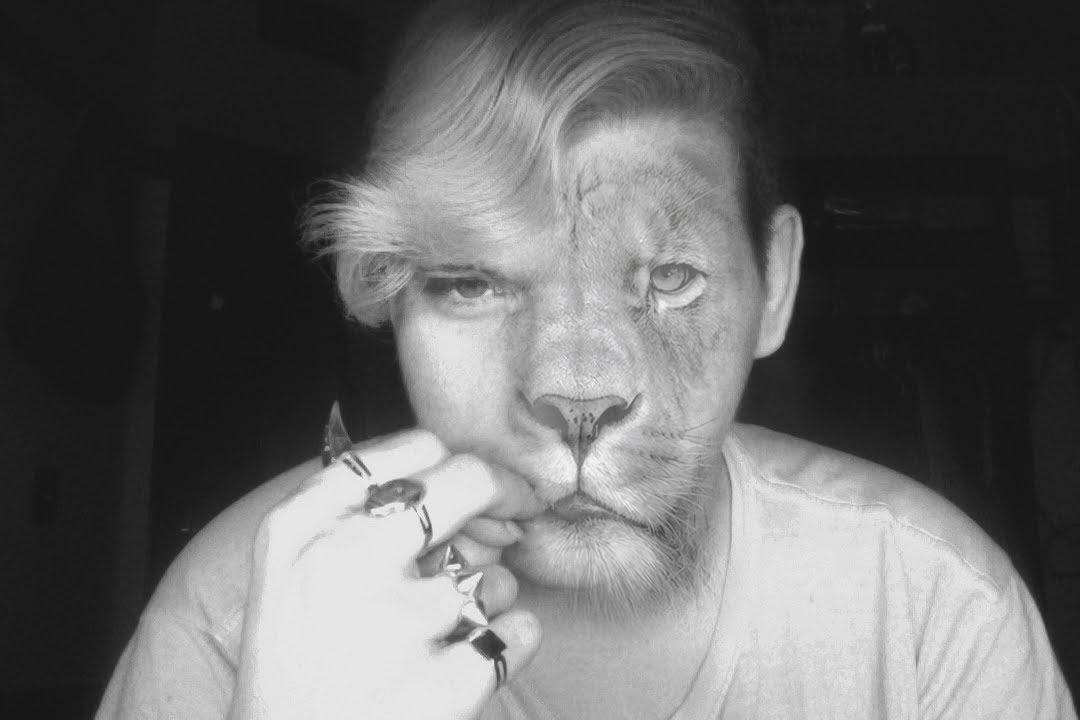 Lion Face Photoshop Cs6 Tutorial Youtube