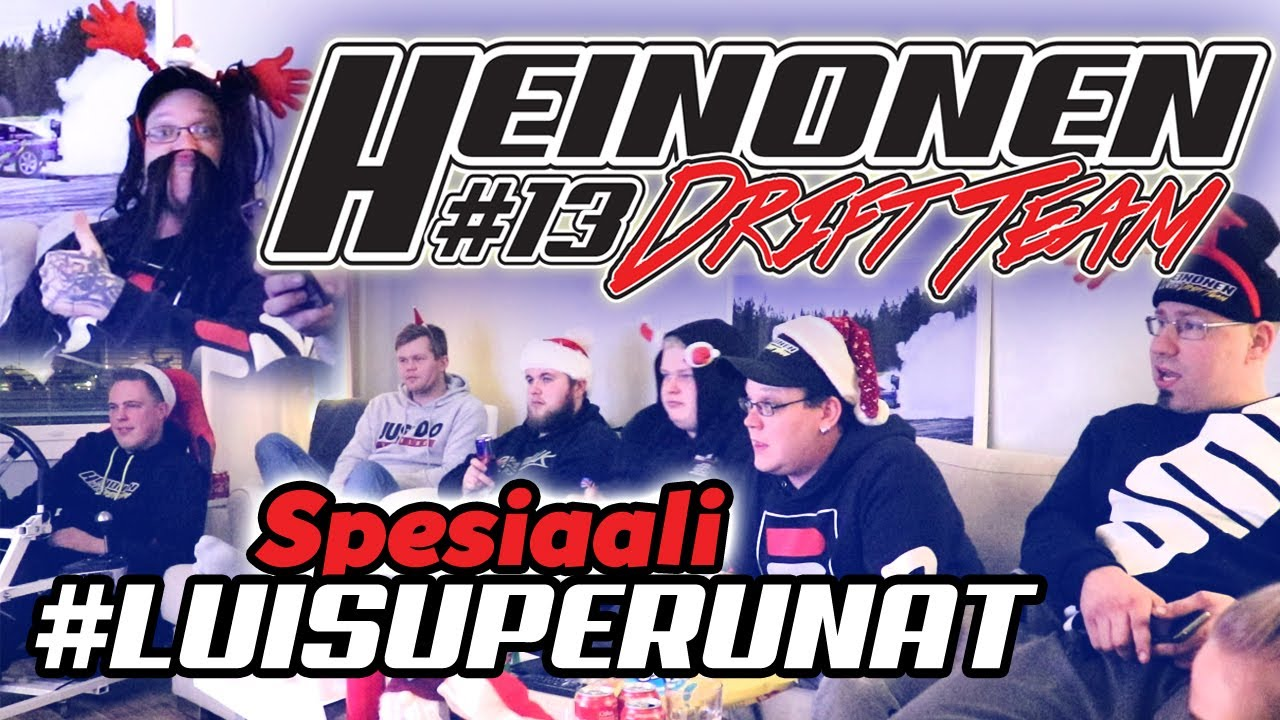 JOULUSPESIAALI 2019 1/2! x Heinonen Drift Team #luisuperunat
