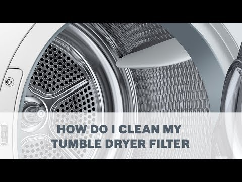 How Do I Clean my Tumble Dryer Filter - Cleaning & Care
