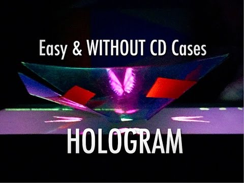 Turn Phone into 3D Hologram WITHOUT CD Case How To