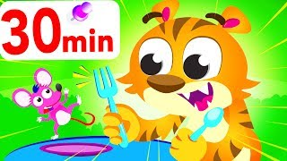 Can You Dance Like a Tiger? Tiger Boo Boo, Jungle Roar, compilation by Little Angel