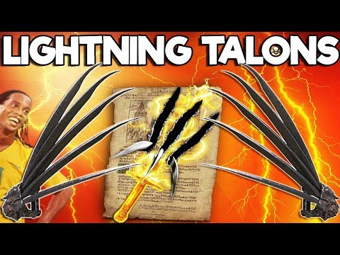 Dark Souls 3 PvP - Sharp Crow Talons + Lightning Blade - The Combo Damage Is Absurd!