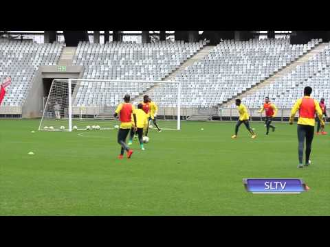 Thulani Serero Scores Brilliant Goal In Training