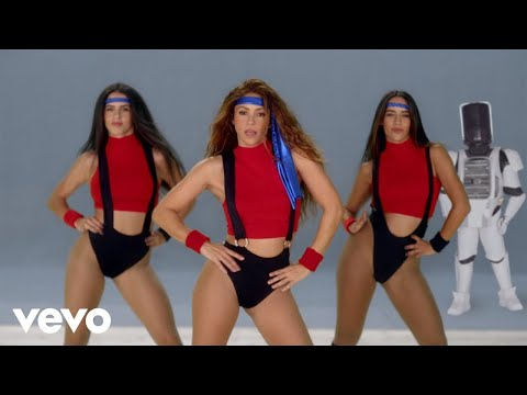 Black Eyed Peas, Shakira - GIRL LIKE ME (Official Music Video)