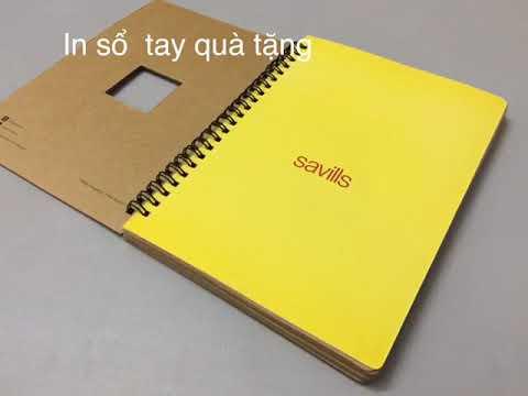 Xưởng sản xuất sổ tay Thành Hưng Phát - YouTube