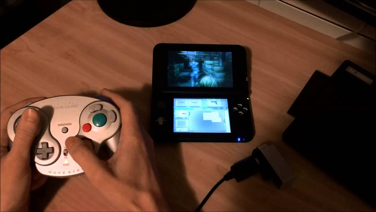 3DS GameCube Controller Mod With Circle Pad Pro YouTube