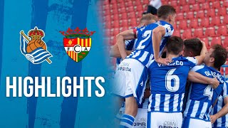HIGHLIGHTS | Sanse 2-1 Andorra FC | Real Sociedad | Play-offs 2ªB