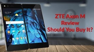 ZTE Axon M Review - Should You Buy It? - YouTube Tech Guy