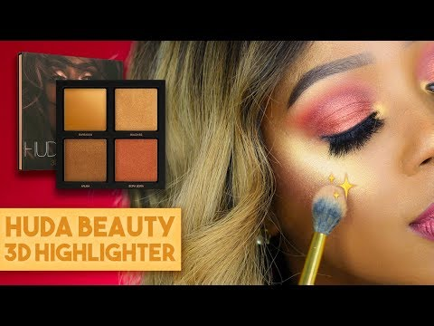 Why I'm Returning Huda Beauty's Bronze Sands 3D Highlighter  - HONEST THOUGHTS + REVIEW