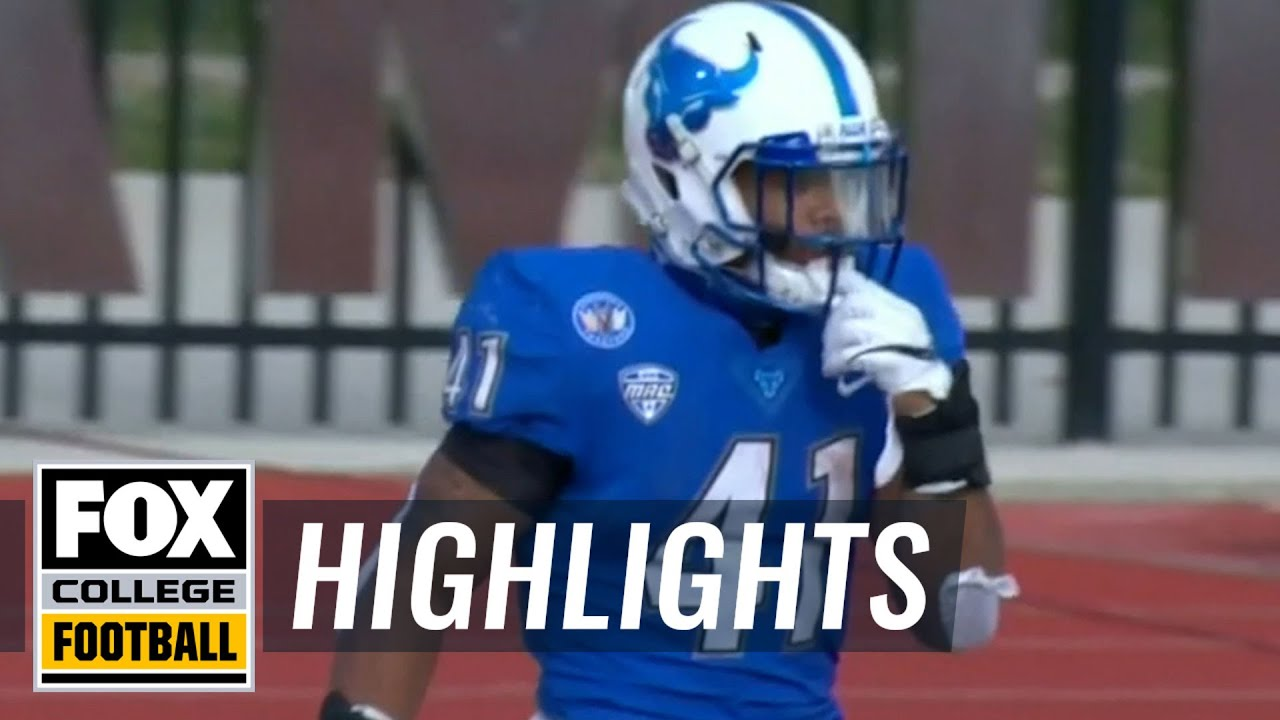 Buffalo's Jaret Patterson ties FBS college football record with 8 ...