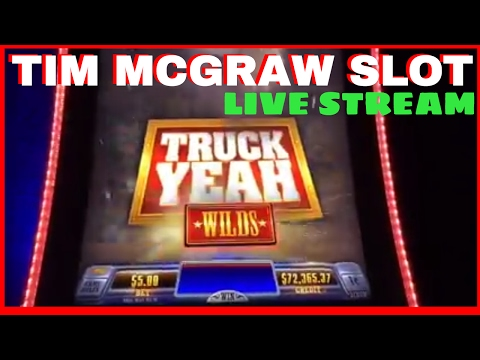 ✦ LIVE STREAM - First Look at Tim McGraw Slot Mahine! ✦ Live Chat with Brian Christopher!