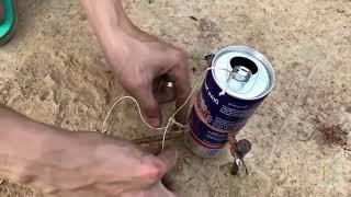 как сделать ловушку для вороны в домашних условиях