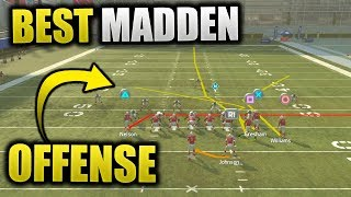 FULL GUIDE TO MOST DOMINANT MADDEN OFFENSE | Madden 19 Best Easy Offensive Scheme - Win More Games
