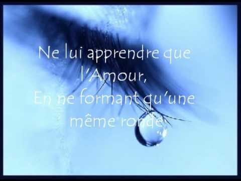 Florent Pagny - Chanter (Lyrics)