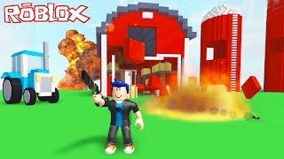 WE'RE CRASHING EVERYTHING IN FRONT OF US! (Roblox Destruction Simulator)