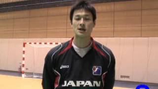 ハンドボール2008北京オリンピックアジア予選 日本代表 末松 誠(大同特殊鋼)