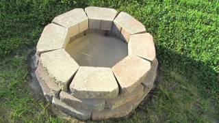 How To Build An Outdoor Fire Pit - Diy