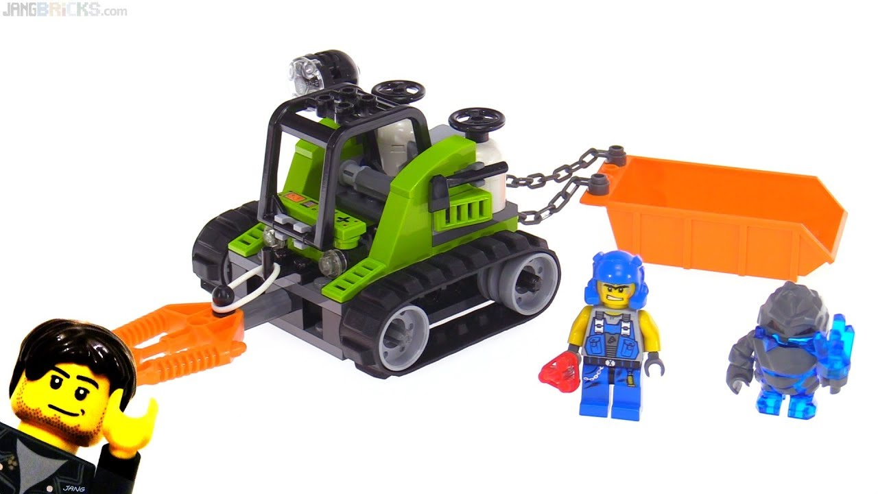LEGO Power Miners Granite Grinder from 2009! set 8958 ...