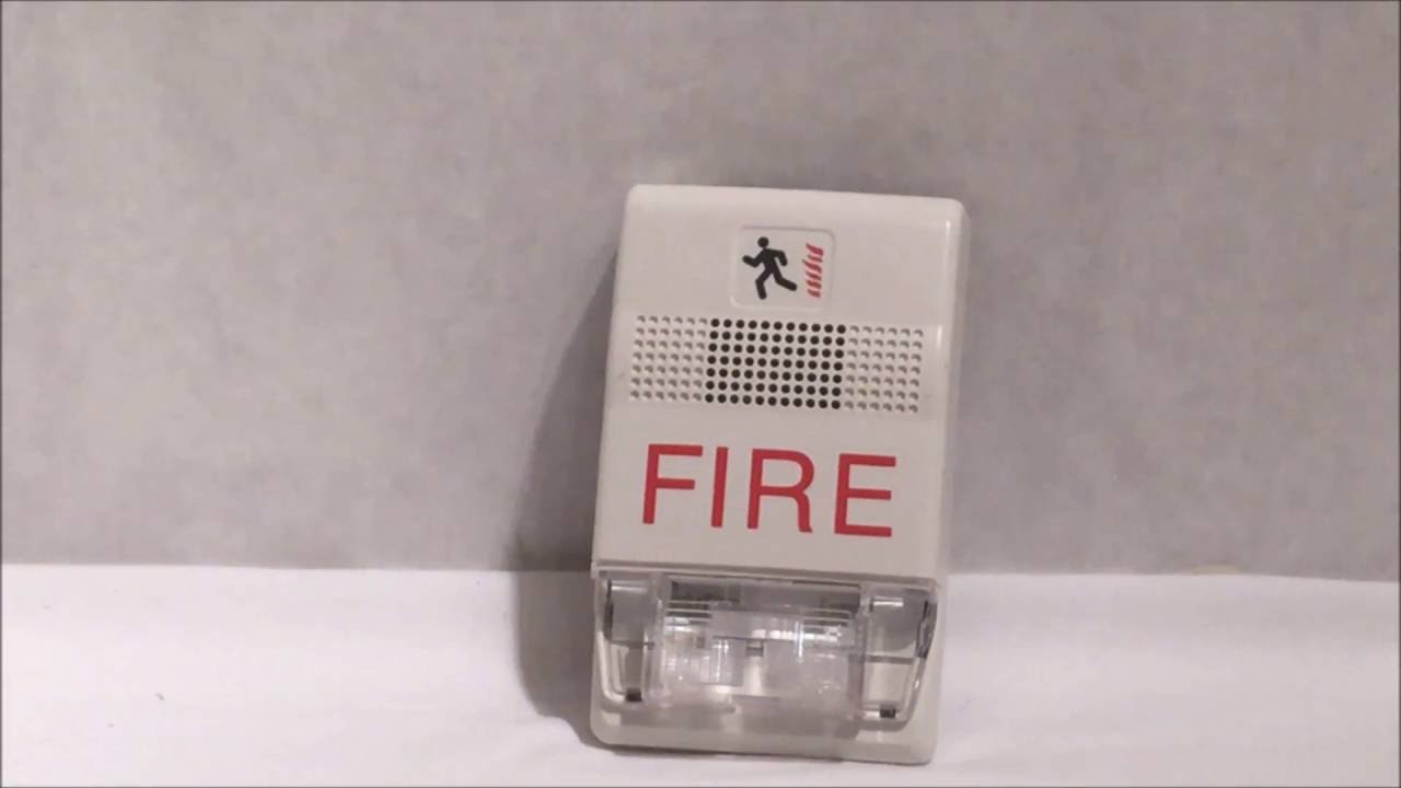 EST (Genesis) Multi-CD Fire Alarm HORN STROBE Test #2. (With Wm of ...