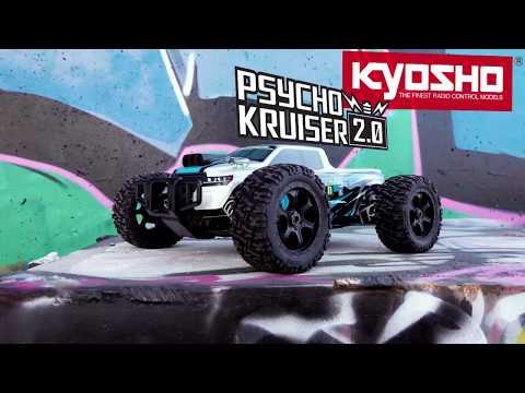 創億RC KYOSHO京商 1/8賽克號2.0 電動大腳車/競卡越野車Psycho Kruiser 2.0 #34256