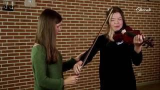 Урок игры на скрипке ''Постановка правой руки скрипача'' ч. 2
