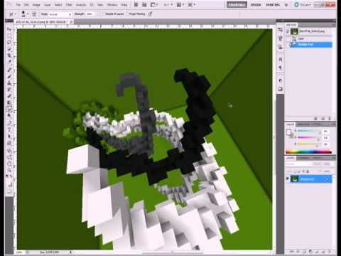 Minecraft: Creating Abstract Organics