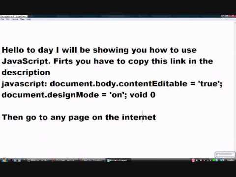 JaveScript tutorial