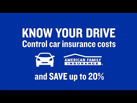 KnowYourDrive: Take Control And Save Up To 20% On Car Insurance Costs | American Family Insurance