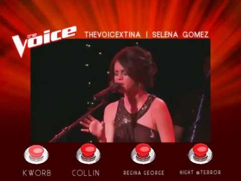 The Voice Of ATRL - Blind Auditions - Selena Gomez