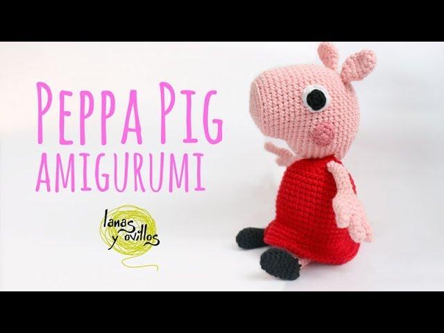 Tutorial Peppa Pig Amigurumi In English Lanas Y Ovillos In English Youtube
