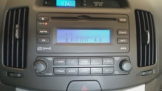 "How to fix CD player ""Err…"