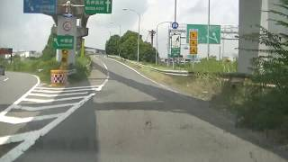 名神吹田IC(インターチェンジ)中央環状線西向きから西宮、神戸方面に入ってみました!!参考にどうぞ!!