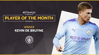 Etihad Player of the Month | Kevin De Bruyne | November