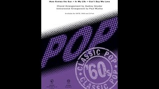 Can't Buy Me Love (Medley) (SATB) - Arranged by Audrey Snyder