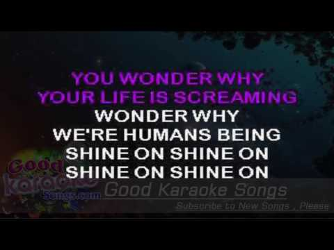 Humans Being - Van Halen ( Karaoke Lyrics )