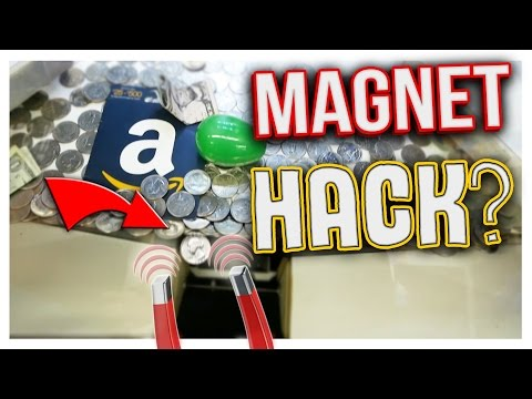 CAN YOU HACK A COIN PUSHER WITH A MAGNET? | Arcade Hacks - YouTube