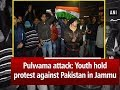 Pulwama attack: Youth hold protest against Pakistan in Jammu