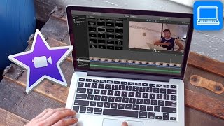 how to use imovie on macbook
