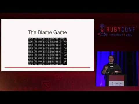 RubyConf 2015 - Communicating Intent Through Git by Josh Freeman