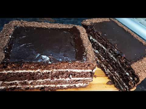 Без Муки Без грамма Масла Потрясающий Торт к чаю на каждый день Простейший Рецепт Simple Cake Recipe
